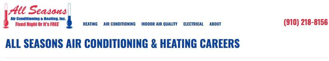 All Seasons Air Conditioning & Heating